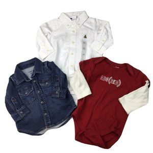 BabyGAP Baby Boy 3-6 Month 6-12 Month Shirt Lot